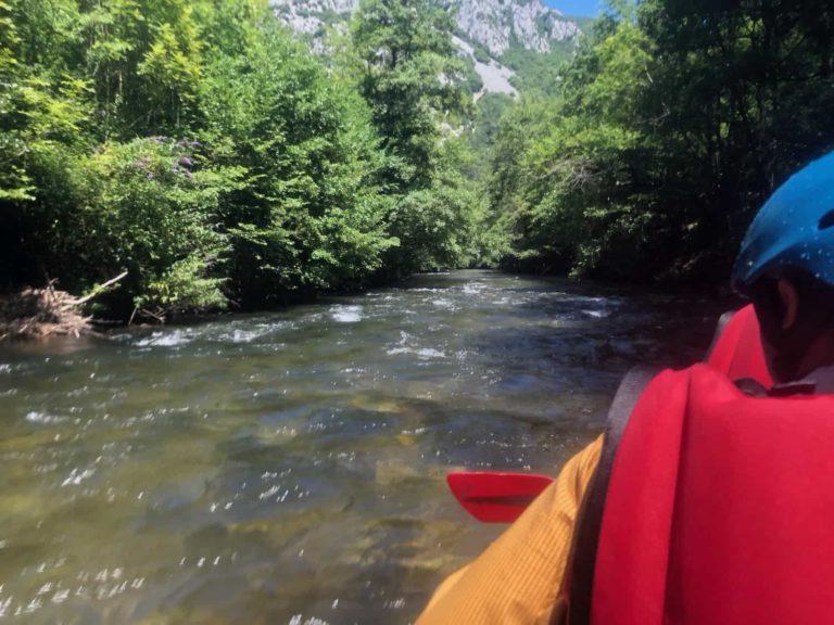 canyoning dans la riviere Rennes-les-Bains