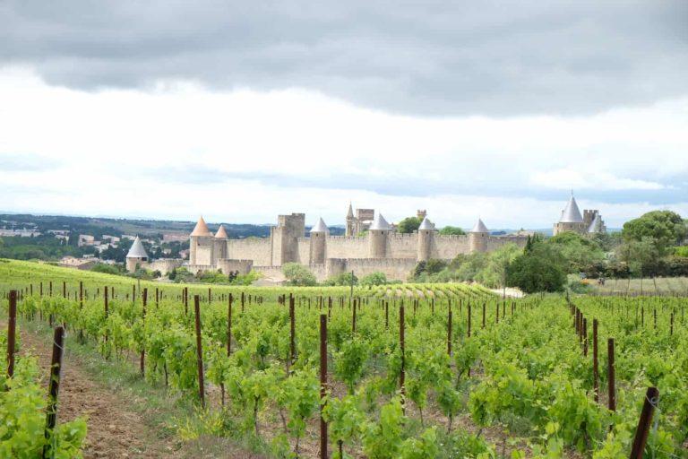 cite Carcassonne La Bernede camping