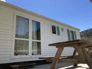 mobil-home camping Rennes-les-Bains