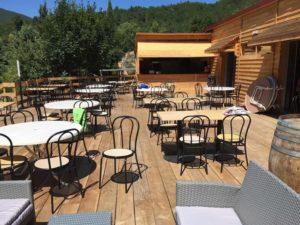 restaurant-bar camping Rennes-les-Bains